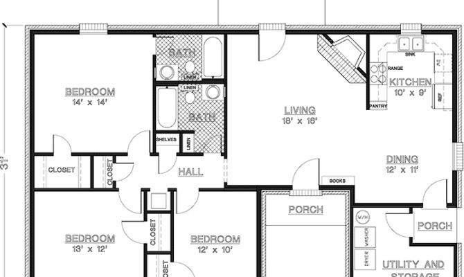 Lovely Square Feet House Plans