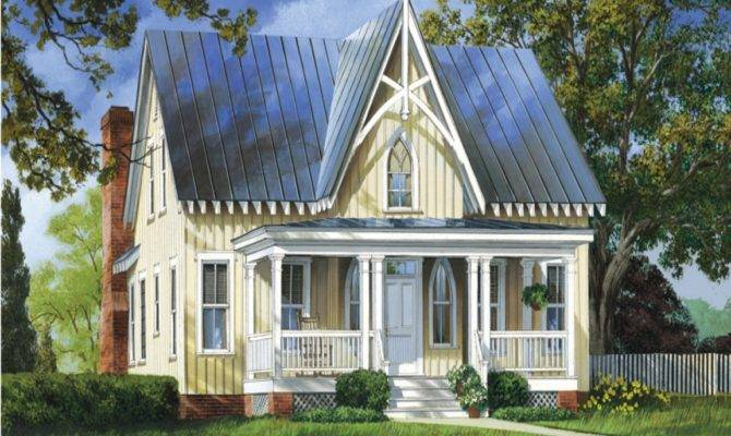 Low Bed Designs Gothic Style House Plans Victorian