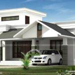 Low Budjet Single Floor House Design Two Side Views