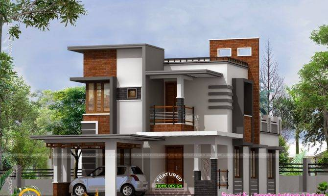 Low Cost Contemporary House Kerala Home Design Floor