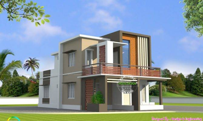 Low Cost Double Floor Home Plan Kerala Design