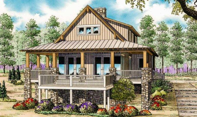 Low Country Cottage House Plan Architectural