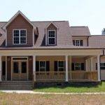 Low Country Farmhouse Plan Wrap Around Porch