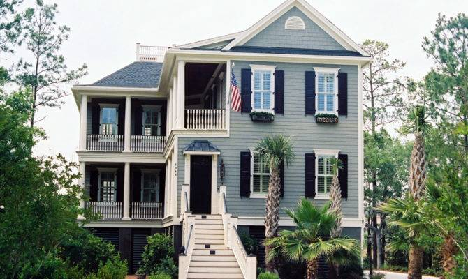 Low Country House Exterior Plans Ideas