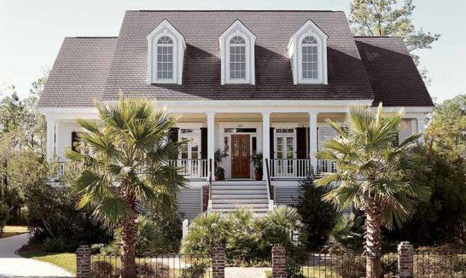 Low Country House Plan Best Suited Southern Climates