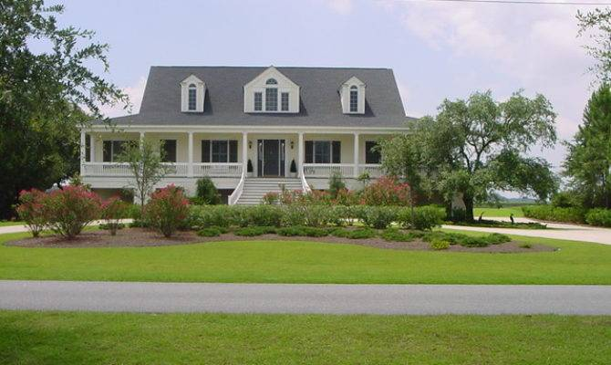 Low Country Style Home Traditional Exterior