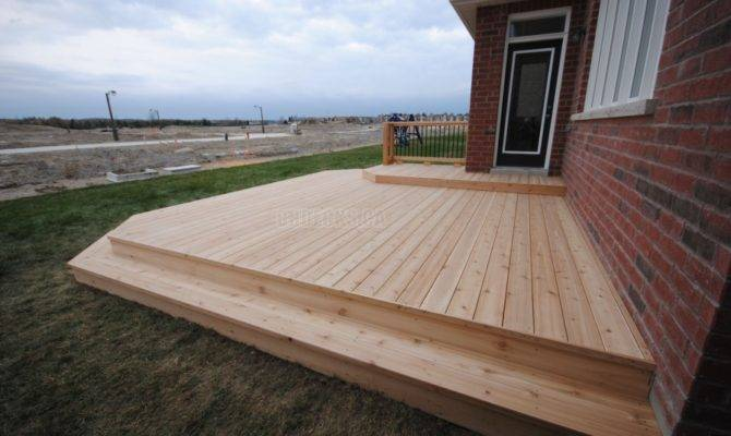 Low Deck Designs Decks