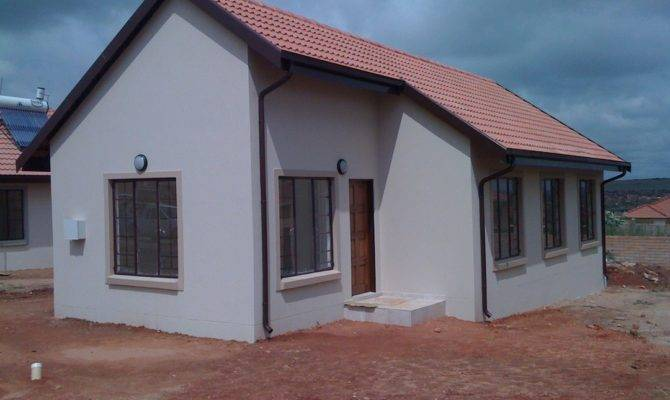 Low Income House Plans South Africa