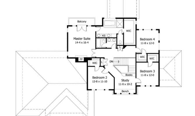 Low Pitched Roof House Plans Design