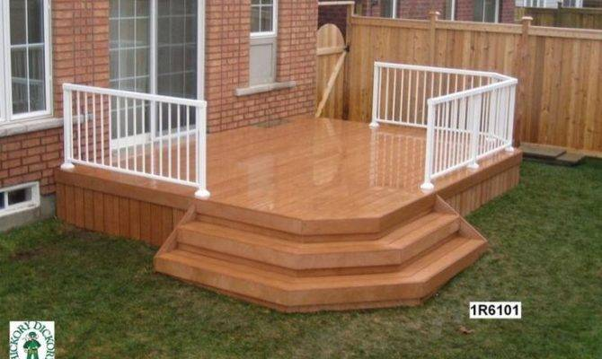Low Single Level Deck Design Pinterest