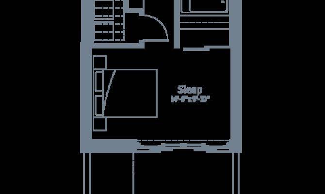 Lower Floor Plan Glas Marda Loop