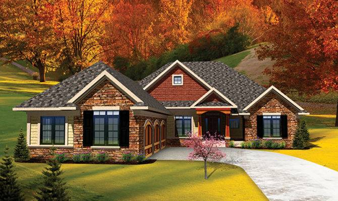 Lucerna Traditional Ranch Home Plan House