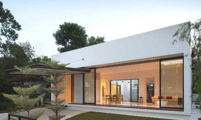 Luxurious Bungalow Designs White