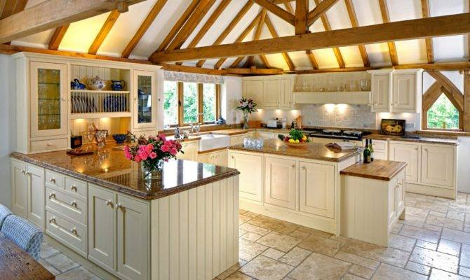 Luxurious Country House Kitchen Design Home Kitchens