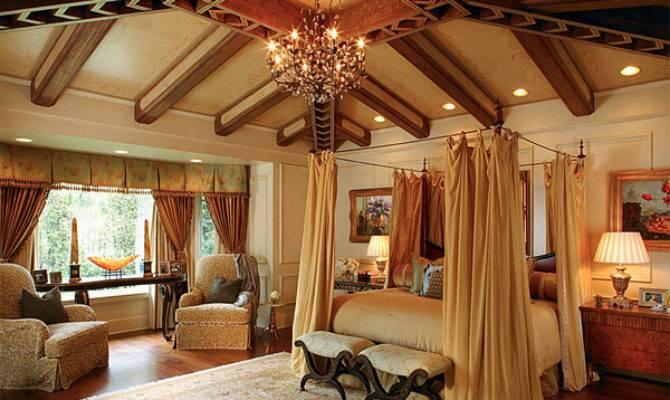 Luxurious Design Mediterranean Bedroom House