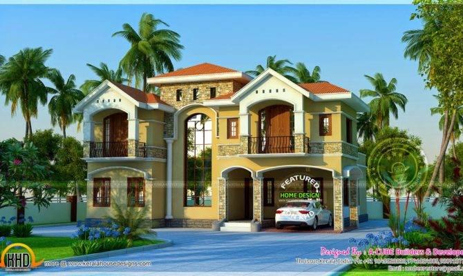 Luxurious House Exterior Design Home Kerala Plans