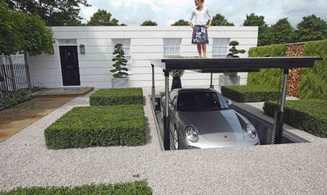 Luxurious Hydraulic Underground Garage Parking Freshome