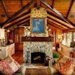 Luxurious Log Cabin Interiors Have