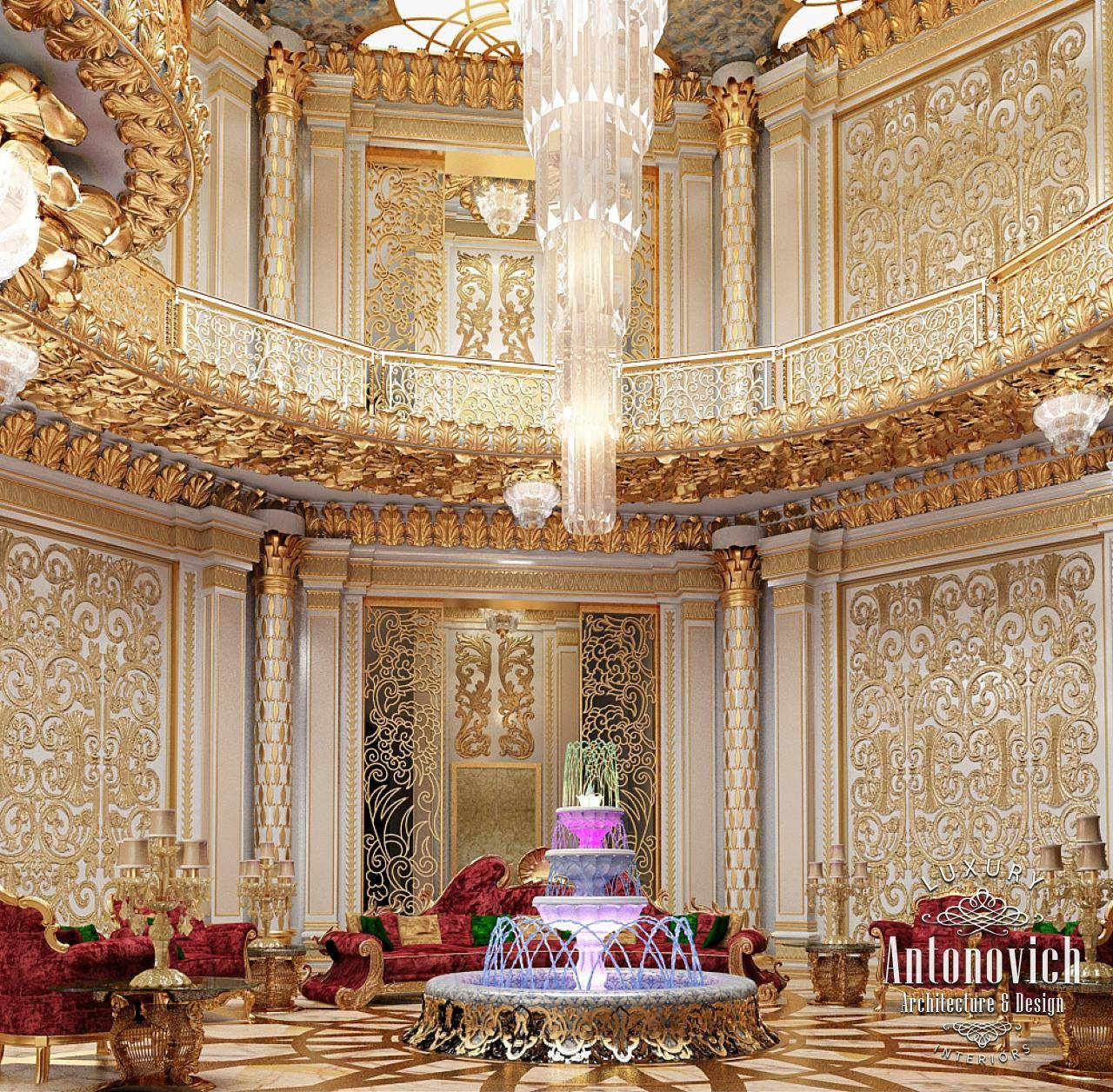 Luxury Antonovich Design Uae Arabic House - House Plans ...