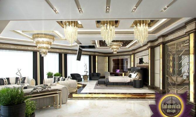 Luxury Antonovich Design Uae Master Bedroom