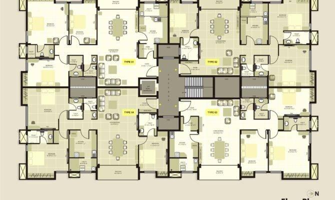 Luxury Apartment Floor Plans Homes