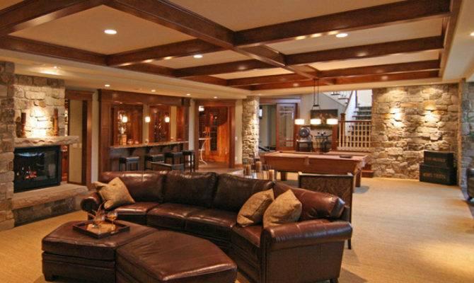Luxury Basement Designs Decor Ideas Enhancedhomes