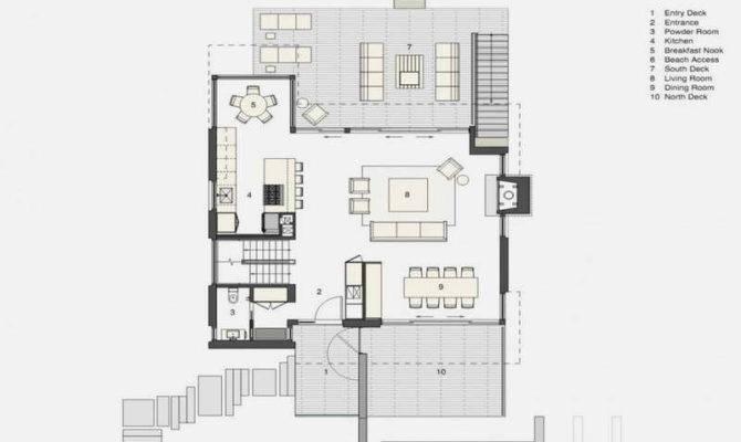 Luxury Beach House Floor Plans Design