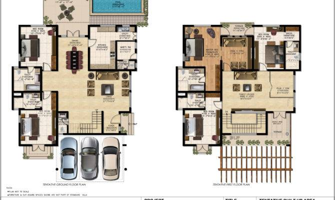 Luxury Bungalow Floor Plans Homes