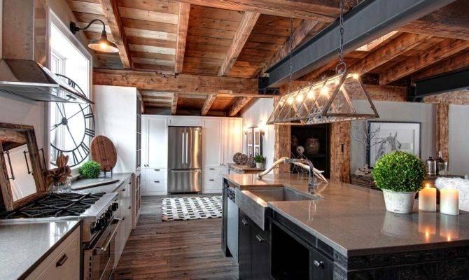 Luxury Canadian Home Reveals Splendid Rustic Contemporary