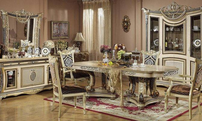 Luxury Classic Dining Room Furniture Home