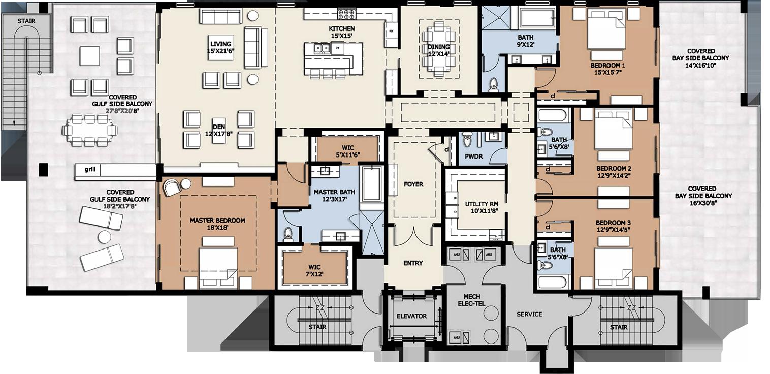 Luxury Condo Floor Plans Homes House Plans 144783