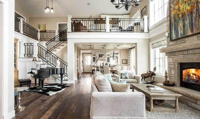 Luxury Contemporary Craftsman Home Amazing Landing