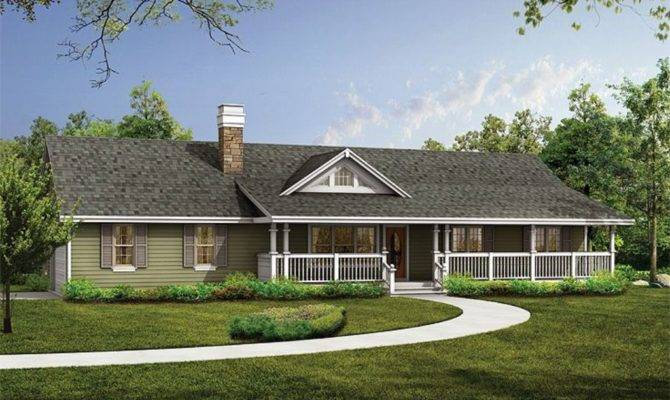Luxury Country Ranch House Plans