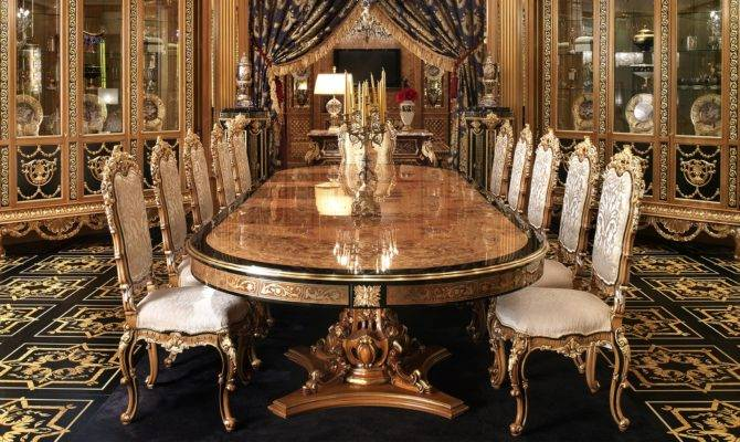 Luxury Dining Furniture Brucall