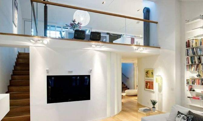 Luxury Duplex Penthouse Apartment Interior Stockholm Sweden