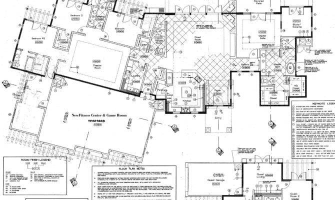 Luxury Estate Floor Plans Beautiful