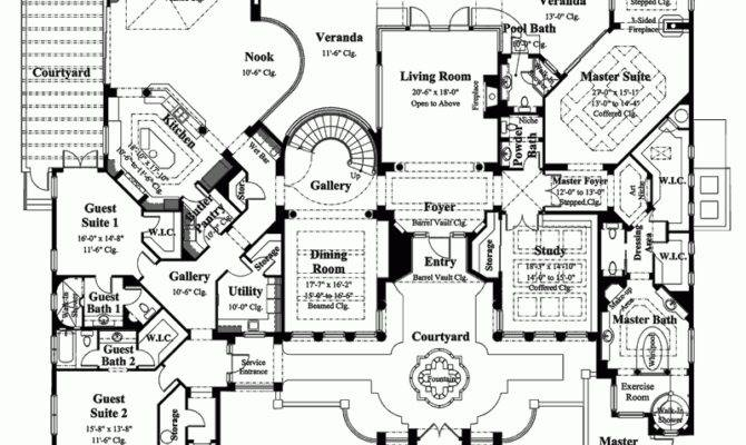 Luxury Estate Home Floor Plans Awesome Best