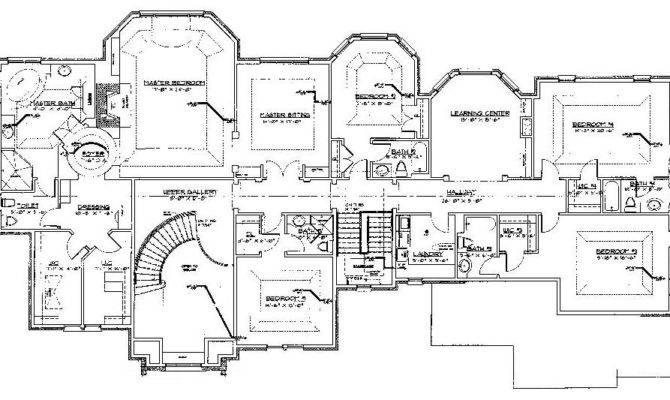 Luxury Floor Plans Dressup Home