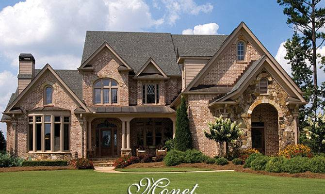 Luxury French Country House Plan Monet