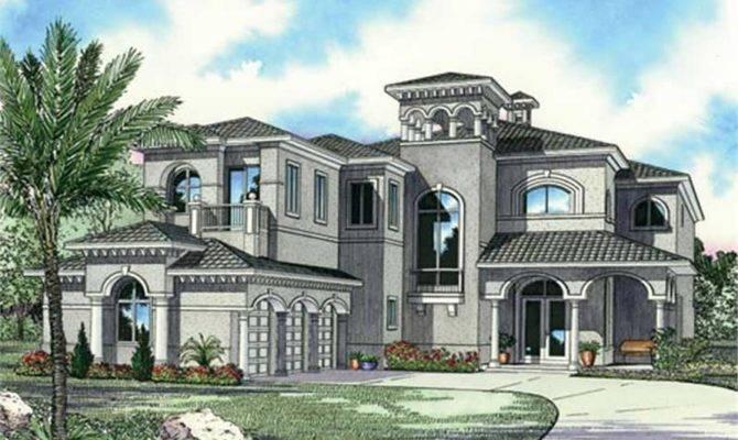 Luxury Home Bdrms Floor Plan