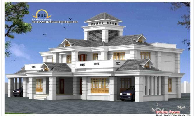 Luxury Home Design Elevation Kerala