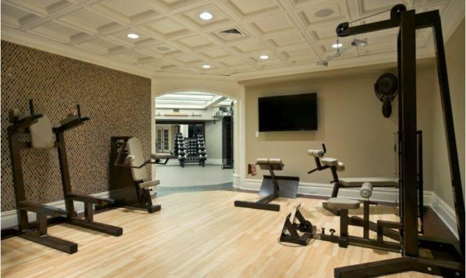 Luxury Home Gym Design Ideas