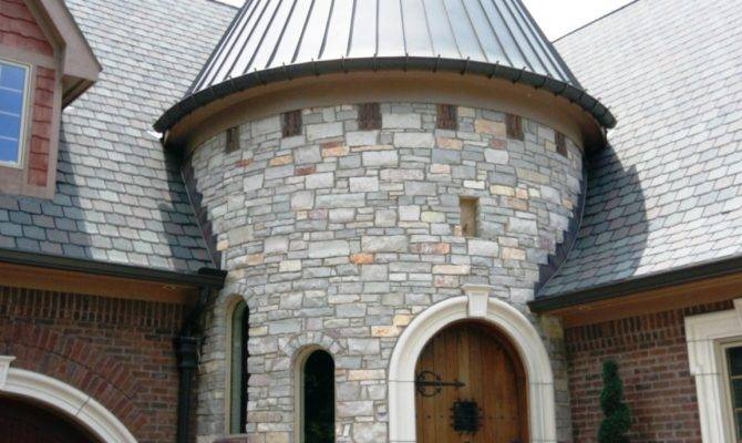 Luxury Home Plans Turrets