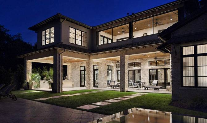 Luxury Home Texas Rustic Meets Modern Freshome