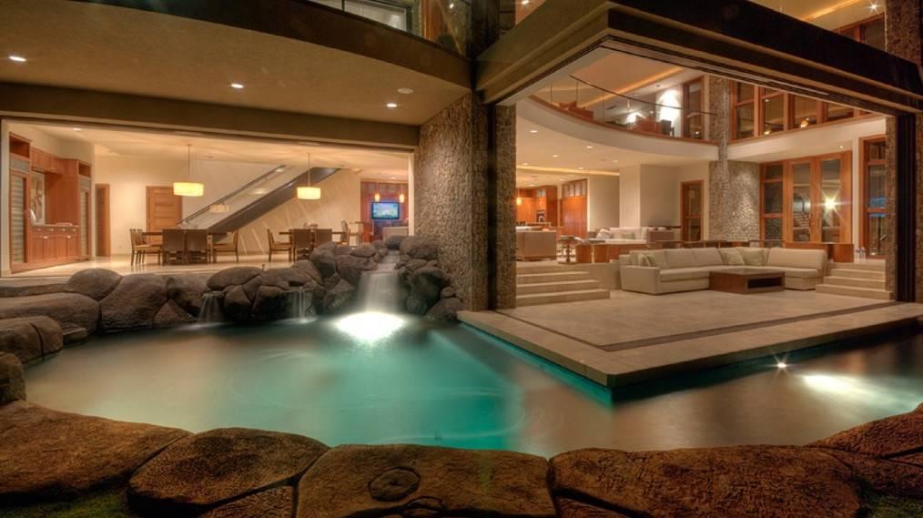 Luxury Homes Indoor Pools Pool Design Ideas House Plans 163346