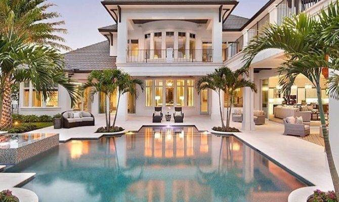 Luxury Homes Pool Millionaire Lifestyle Dream