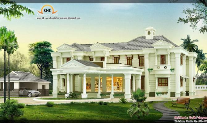 Luxury House Design Kerala Home