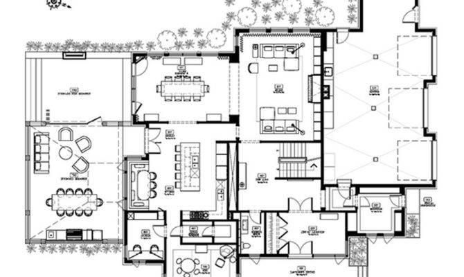 Luxury House Design Plans Floor Kitchen