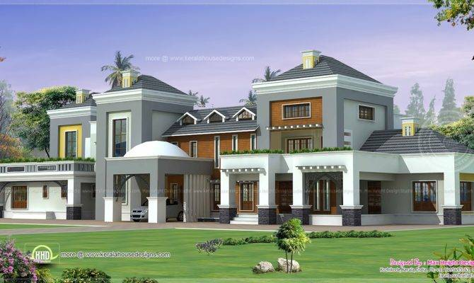 Luxury House Plan Home Kerala Plans