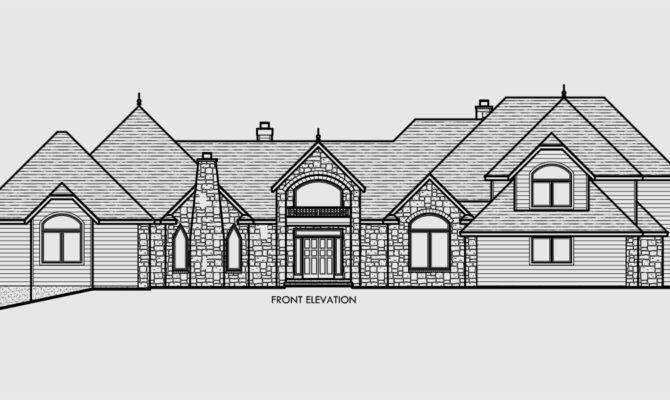 Luxury House Plans Car Garage